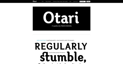 Otari Website Screenshot