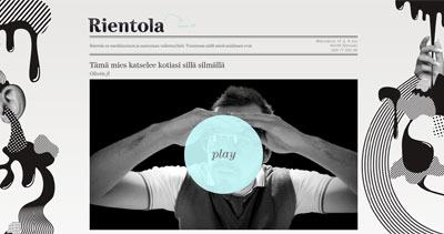 Rientola Website Screenshot