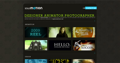 Solomotion Website Screenshot