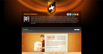 Adriano Estokero Website Screenshot