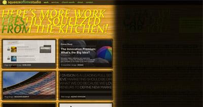 Squeeze of Lime Studio Website Screenshot