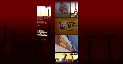 Maxime Natali Website Screenshot