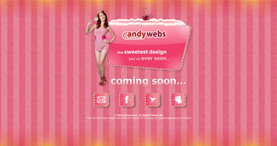 candywebs Website Screenshot