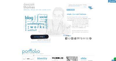 thinkdj Website Screenshot