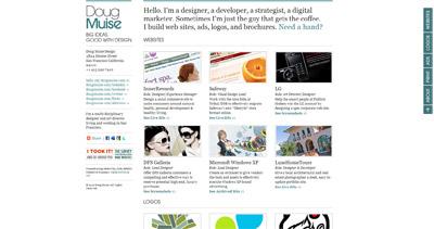 Doug Muise Design Website Screenshot