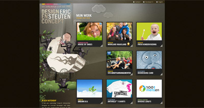 Eric Steuten Website Screenshot