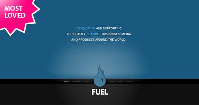 Fuel Brand Inc Website Screenshot