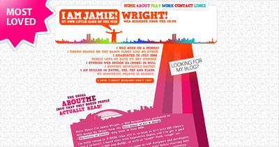 iamjamie Website Screenshot