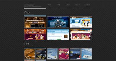 Joro Balinov Website Screenshot