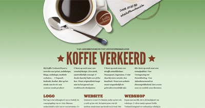 Koffie Verkeerd Website Screenshot