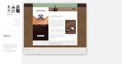 Nicu Iordachescu Website Screenshot