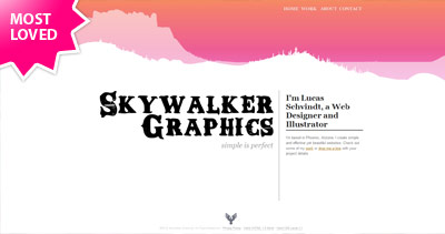 Skywalker Graphics Website Screenshot