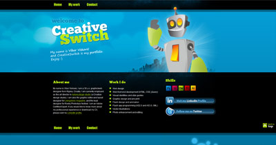 CreativeSwitch Website Screenshot