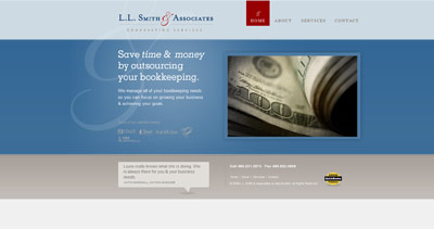 LL Smith & Associates Website Screenshot