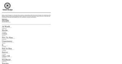 Salad Design Website Screenshot
