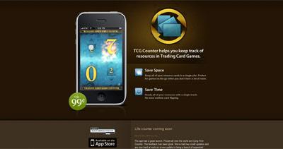 TCG Counter Website Screenshot