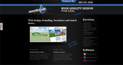 Everything Ink Website Screenshot