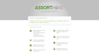 Assortmint Website Screenshot