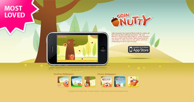 Goin Nutty Website Screenshot