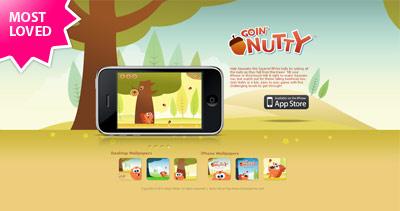Goin Nutty Website Screenshot