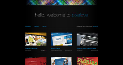 Becky King Design Website Screenshot