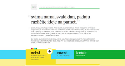 1ŠEST Website Screenshot