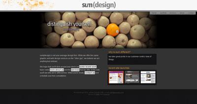 sum(design) Website Screenshot