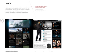 Mark Delamere Website Screenshot