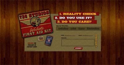 736 Studios Website Screenshot