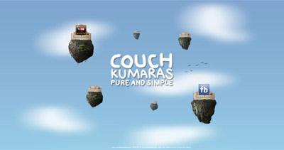 Couch Kumaras Website Screenshot