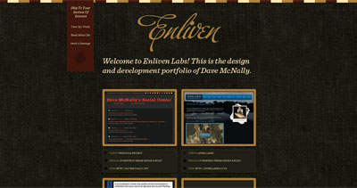 Enliven Labs Website Screenshot