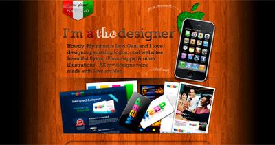 Gaal Levi Website Screenshot