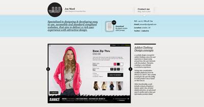 Jon Ward Website Screenshot