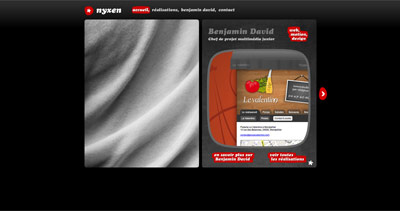 Benjamin David Website Screenshot