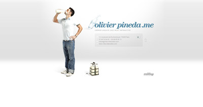 Olivier Pineda Website Screenshot