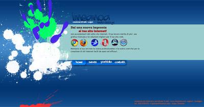Creazione siti web Website Screenshot