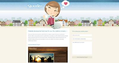 Stoodeo Website Screenshot