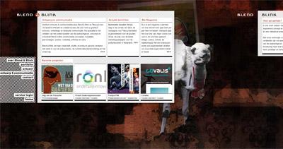 Blend & Blink Website Screenshot
