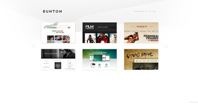 Bunton Website Screenshot