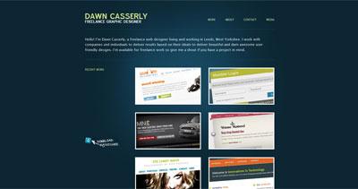 Dawn Casserly Website Screenshot