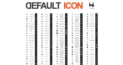 Default Icon Website Screenshot