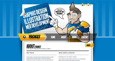 Froket Creative Website Screenshot