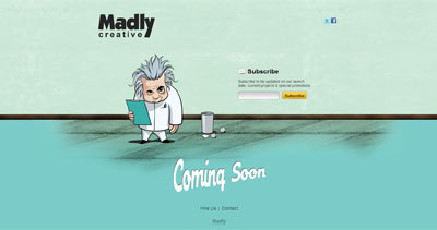 Madly Creative Website Screenshot