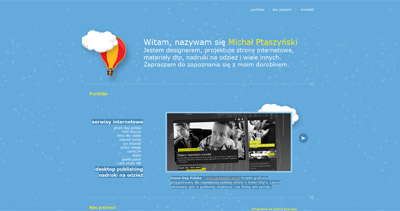 Michał Ptaszyński Website Screenshot