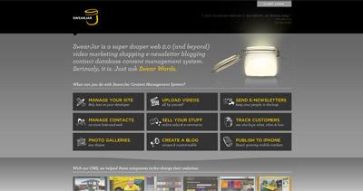 SwearJar Website Screenshot