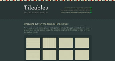 Tileables Website Screenshot