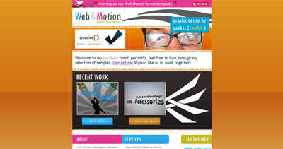 Web & Motion Website Screenshot