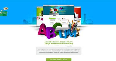 Abcum Limited Website Screenshot