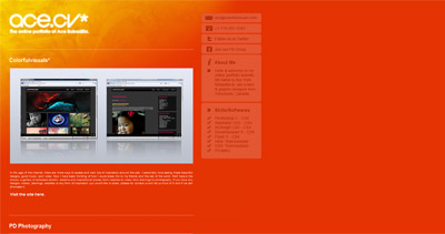 Ace Bobadilla Website Screenshot