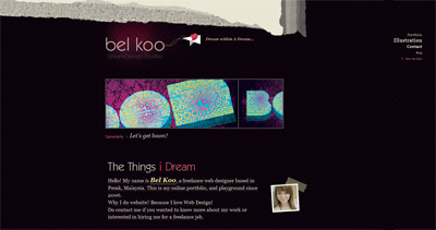 Bel Koo Website Screenshot